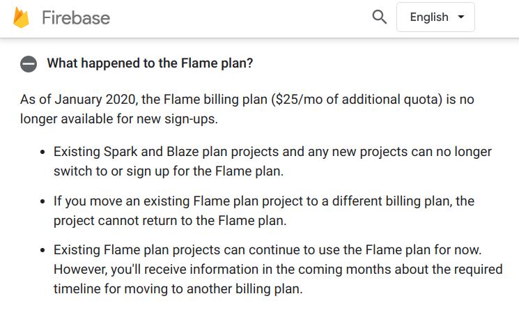 Flame Firebase