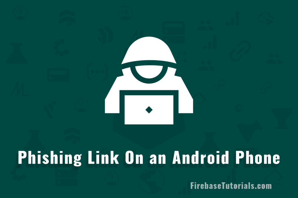 Phishing-Link-on-an-Android-Phone